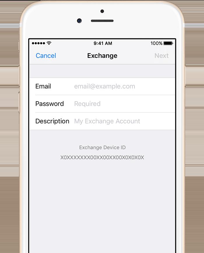 Setup Exchange ActiveSync on your iPhone