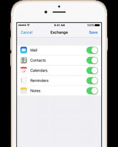 exchange email hosting
