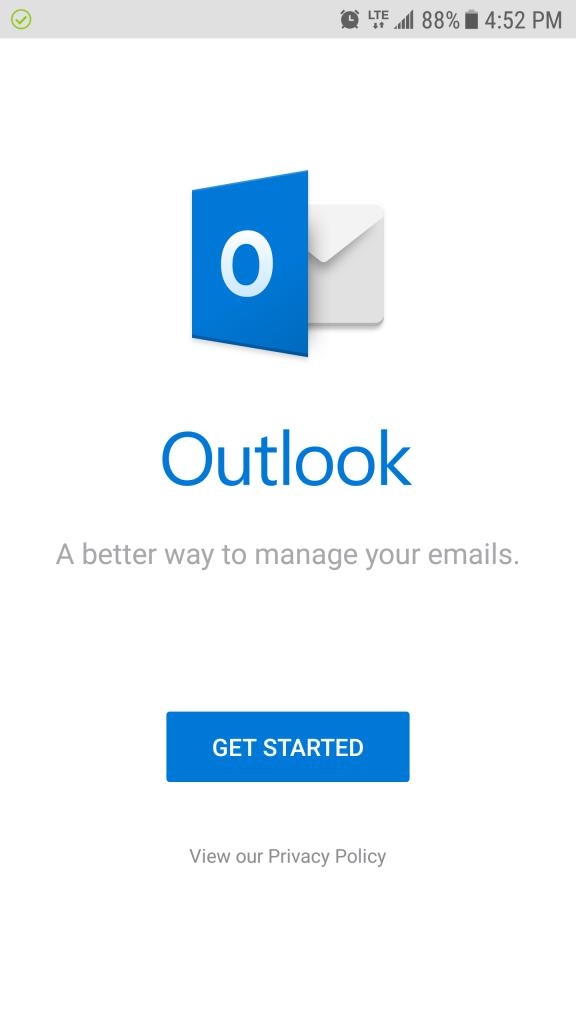 Setup Outlook App for Exchange